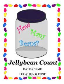 Jelly Template by Jellybean Count Fundraiser