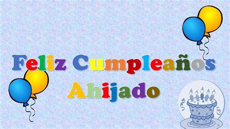 imagenes de feliz cumpleaños ahijado tarjeta postal virtual animada de feliz cumplea 241 os