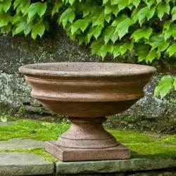 cania international newberry cast urn planter