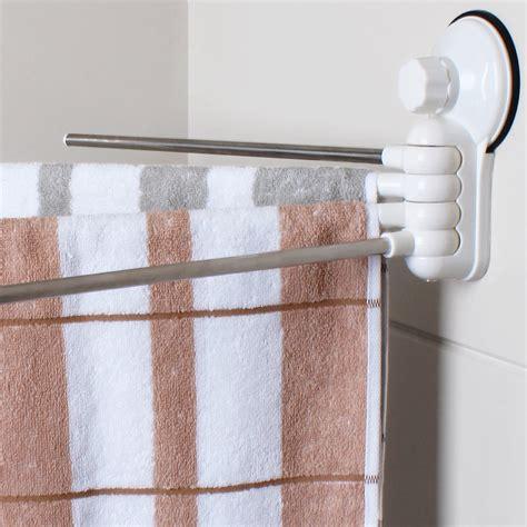 swing arm bath towel rack bathroom 4 swing arm stainless steel towel bar towels rack