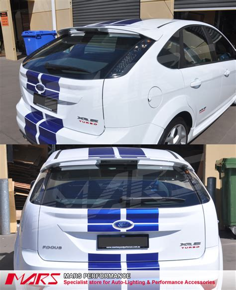 Matching Lights And Ls Smoked Black Led Lights For Ford Focus 05 08 Hatch Ls