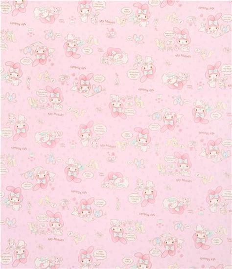 Pink My Melody Bunny Tea Plush Sanrio Oxford Fabric Iphone tissu oxford sanrio p 226 le avec le lapin my melody une