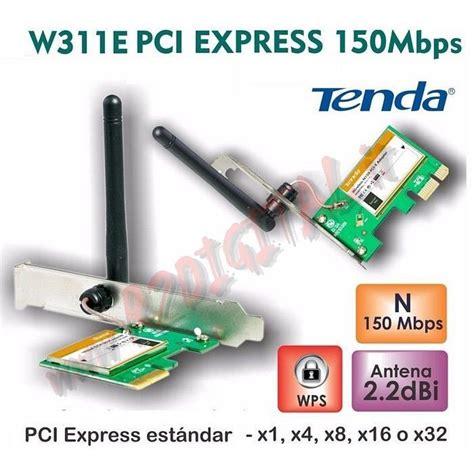 scheda di rete wifi interna scheda rete tenda w311e wifi n 150m 2 4 ghz wireless pci