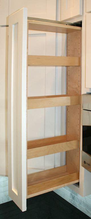 kitchen cabinet pull  spice rack wall kitchen