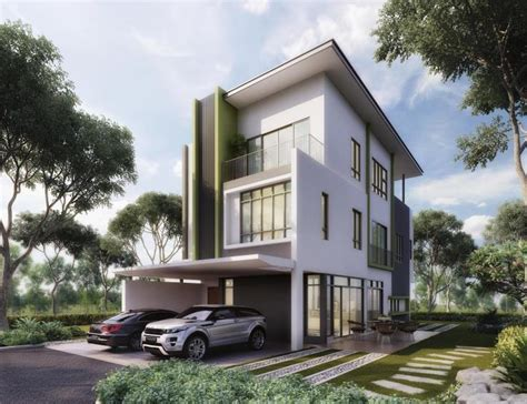 malaysian house design new zero lot bungalow for sale at the rise selangor from rm 1 575 000 malaysia