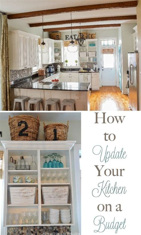 kitchen updates on a budget how to update your kitchen on a budget wood boxes the