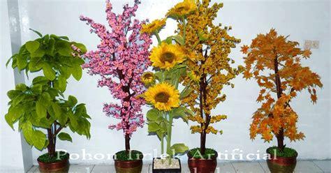 Bunga Plastik Artificial Merah toko bunga florist jakarta indonesia flower shop pohon