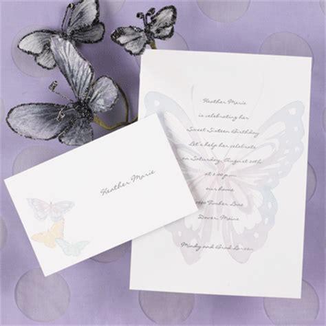 wedding invitations butterfly butterfly wedding invitations