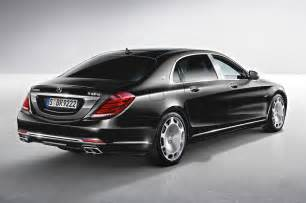 Mercedes S600 Maybach 2016 Mercedes Maybach S600 Rear Three Quarter View Photo 27