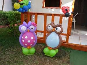 balloon owl sculpture baby shower balloon decor baby
