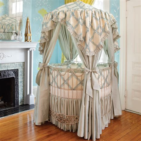 Circle Crib With Canopy jaylen baby bedding and nursery necessities in