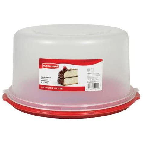 Cake Container rubbermaid 3900rd cake keeper cake pie storage container