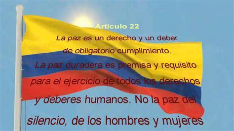 articulo 43 de la constitucion politica de colombia constituci 243 n pol 237 tica de colombia opiniones de la gente
