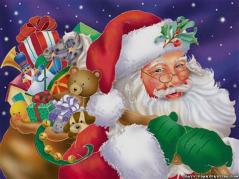 wallpaper christmas santa daniel sierra best christmas tree and santa claus