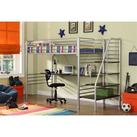 size loft bed with desk size metal loft bed with desk bed headboards