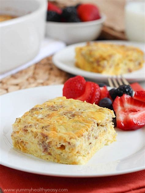 Egg Casserole With Cottage Cheese by Egg Sausage Breakfast Casserole Kindle Giveaway