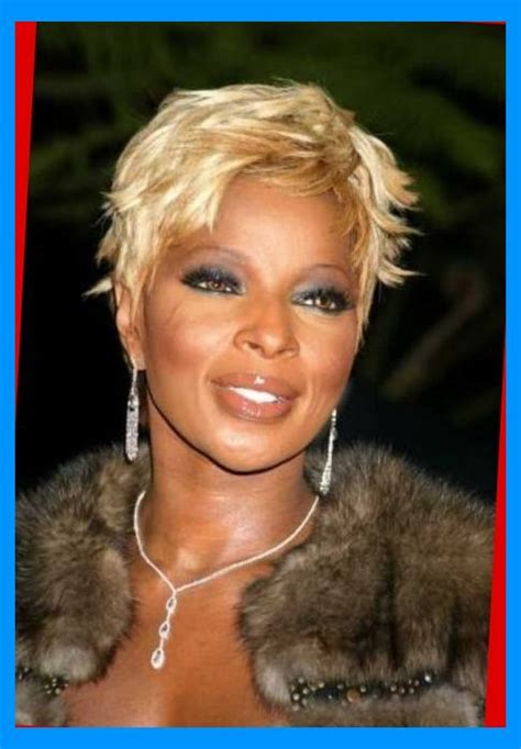J Blige Hairstyles by Amazing As Well As Attractive J Blige