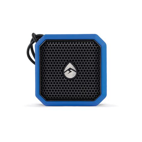 ecoxgear ecopebble lite portable audio system blue west