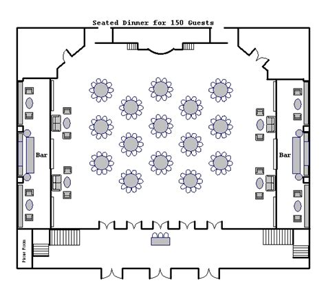 ballroom floor plan ballroom floor plans venue floor plans 583 park avenue