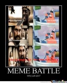 Meme Battle - meme battle by kozhen meme center