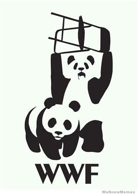 Wwf Meme - panda logo wwf memes