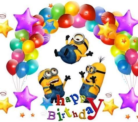 Party Minion Happy Birthday Graphic Pictures, Photos, and
