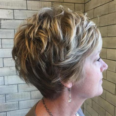 short layered highlighted haircut for 65 yr old woman 90 classy and simple short hairstyles for women over 50