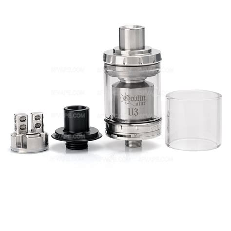 Goblin Mini V3 authentic youde ud goblin mini v3 rta 2ml 22mm silver atomizer