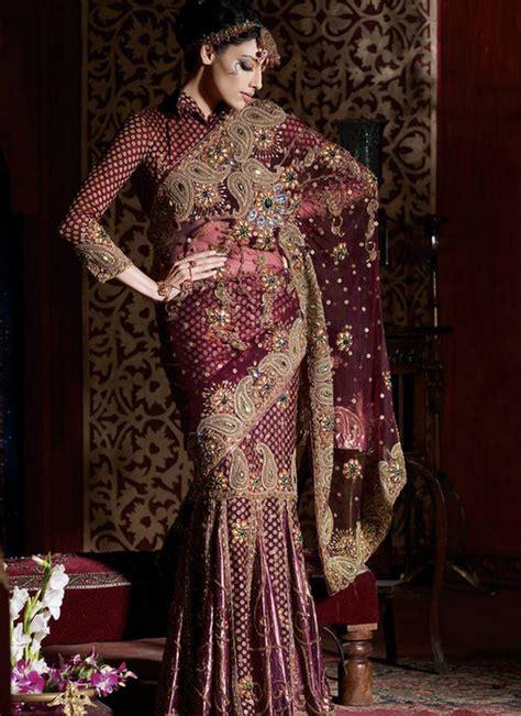 zari design house bride grooms chiffon saree with heavy zari work