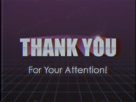Closing Letter Thank You For Your Attention Thank You For Your Attention By Joe Mayo Dribbble