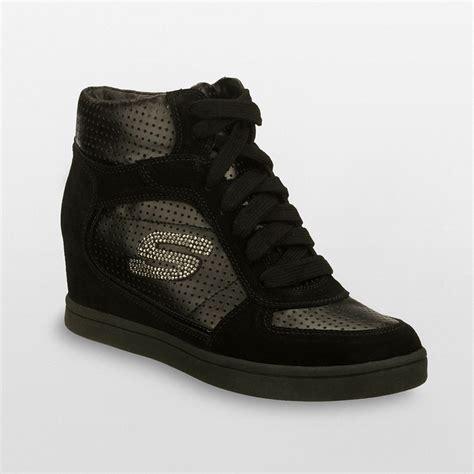 wedge sneakers skechers skechers high top wedge sneakers i can do
