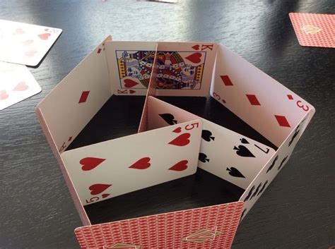 how to make a card house 3 ways to build a house of cards wikihow