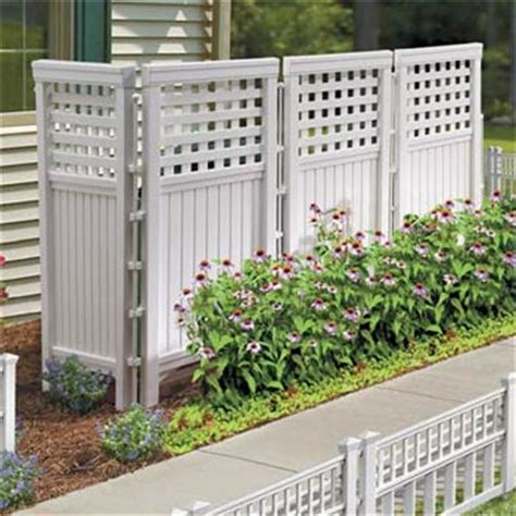 sichtschutz garten langlebig resin outdoor privacy screen betterimprovement