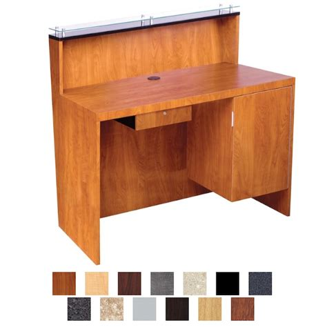 Kaemark Javoe Salon Reception Desk Salon Reception Desk Furniture