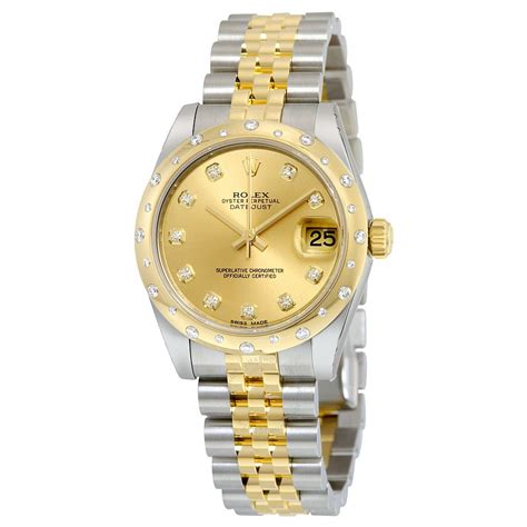 Rolex Oyster Perpetual Gold rolex oyster perpetual automatic chagne steel and