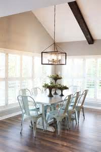 Farmhouse Dining Room Lighting From Magnolia Farms H O M E