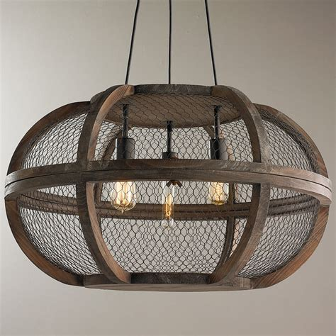 wood chandelier lighting rustic wooden cage chandelier shades of light