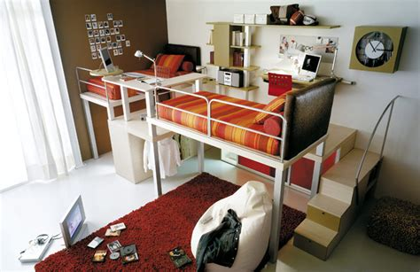 cool beds for teens bunk beds and lofts for kids and teens room