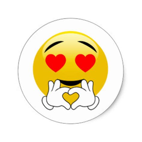 imagenes de emoji con frases de amor pegatinas emoji del amor calcoman 237 as zazzle es