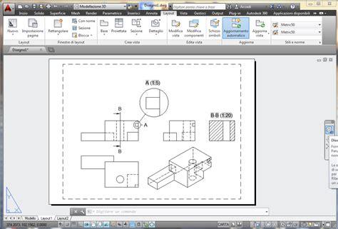 tutorial quotatura autocad la sta di tavole 2d dal modello tridimensionale di