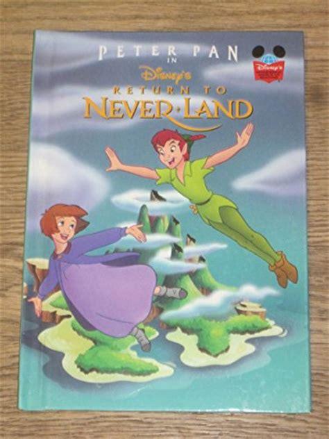 libro peter pan disneys wonderful peter pan return to neverland disney wonderful world of reading book the ebay