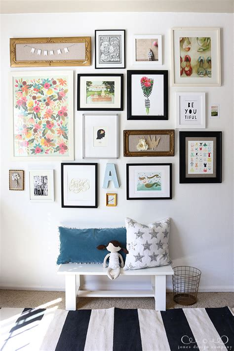 how to do a gallery wall how to create a gallery wall jones design company
