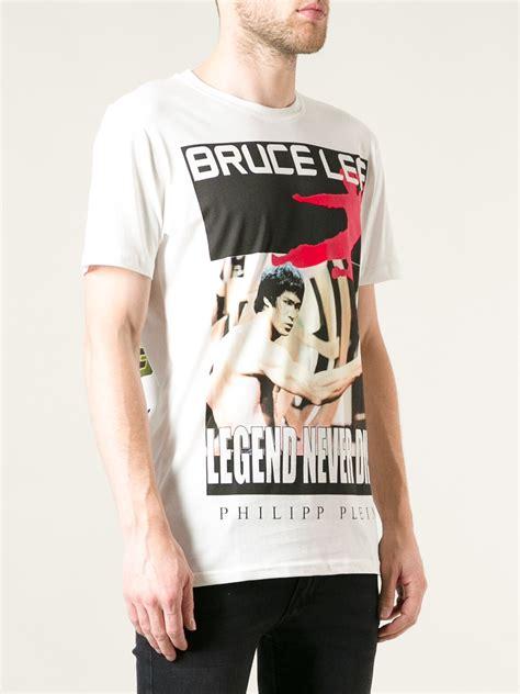 T Shirt Bruce lyst philipp plein bruce tshirt in white for