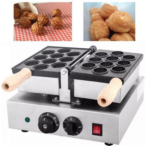video membuat waffle jual mesin waffle bentuk kacang walnut wln10 di semarang