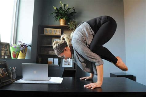 Poses To Do At Your Desk by Desk Stretch Easy For Work Times Union