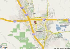 map of sheraton pleasanton hotel pleasanton