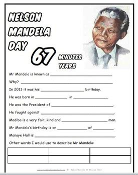 nelson mandela esl biography nelson mandela study and worksheet combo by donnette davis