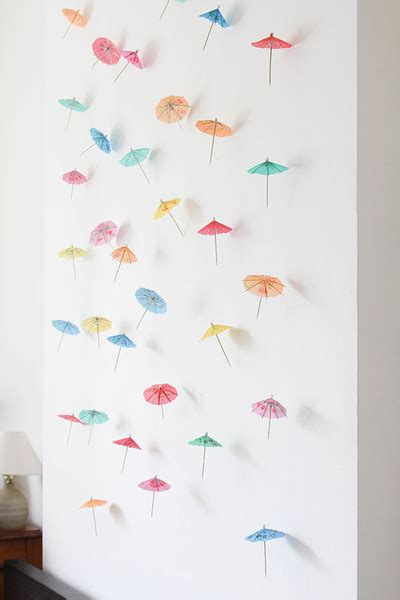 How To Make Paper Umbrellas At Home - step 7 diy decor how to make a paper umbrella garland