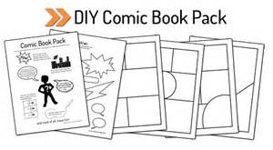 make your own comic book template printable diy comic book pack and drawing resources