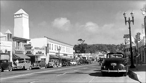 Pch Spellbound - downtown laguna beach california and pch in 1945